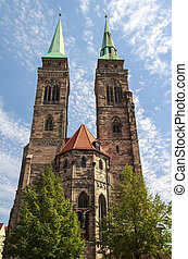 St Sebaldus Church in Nuremberg, Germany, 2015 - The St...