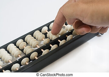 Finger play the chinese ancient calculator