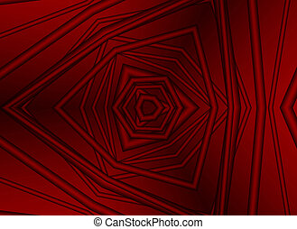 red lines - abstrack background