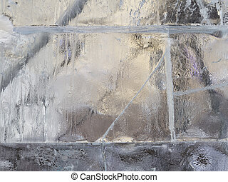 transparent wall of ice - beautiful transparent wall of ice...