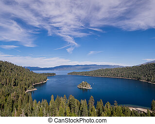 Lake Tahoe, Emerald Bay and Fannette Island - Photos Taken...