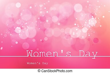 International Womens Day on March 8 Used for dackgrounds,...