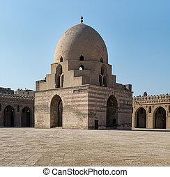 fuente,  tulun, mezquita, ablución,  ibn