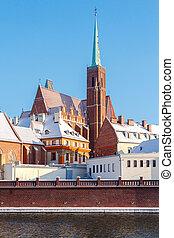產生雜種, 天主教徒,  wroclaw, 神圣, 教堂