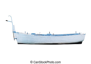 oared boat - The image of an oared boat