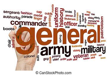 General word cloud concept - General word cloud
