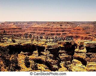 At Grand Canyon national park,USA