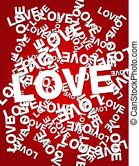 Valentine day abstract background
