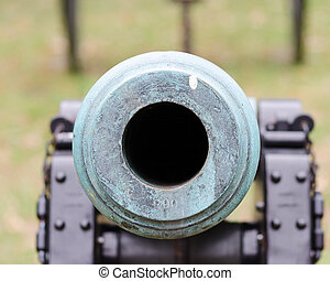 Civil War Cannon - civil, park, national, battlefield,...