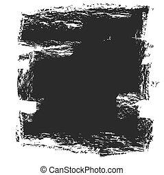 black ink splash background, vector