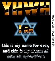 """The God of the Jews """"YHWH"""""""