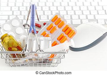 en línea, farmacia
