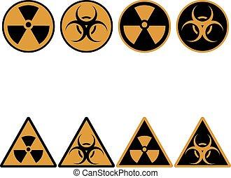 Radiation Set Icons
