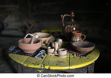 Old traditional  utensils