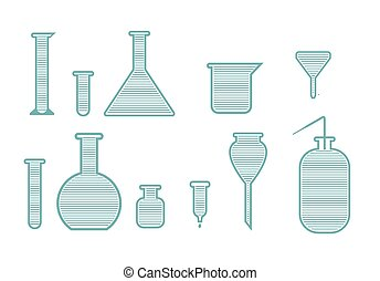 Laboratory equipment set