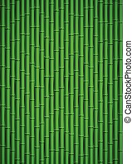 Bamboo pattern - Green bamboo stick pattern background
