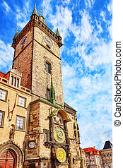 Old Town HallStaromestske namestiis historic square in the...