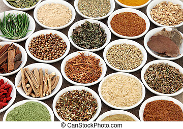 Health Food and Herbs for Men
