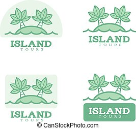 Island Icon Designs