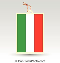 vector simple hungarian price tag - symbol of made in...