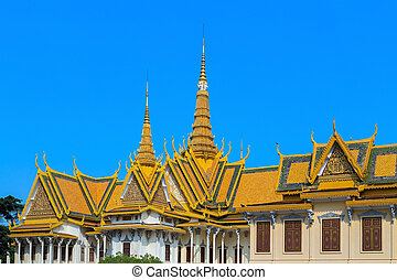 Royal Palace Pnom Penh, famous Cambodia - Royal Palace...