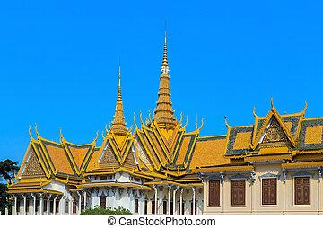 Royal Palace Pnom Penh, famous Cambodia - Royal Palace...