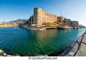 Medieval castle of Kyrenia, Cyprus.