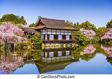 Kyoto, en, primavera,
