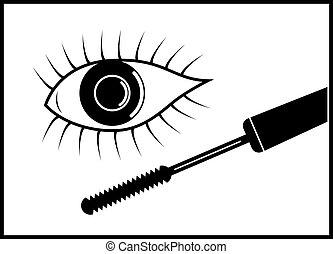 vector eye mascara