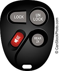 Replacement electronic keyless for cars
