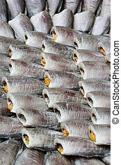 Thai Dried Salted Fish - Snakeskin gourami Fish - Thai Dried...