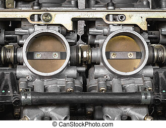 Part of carburetor for motorcycle