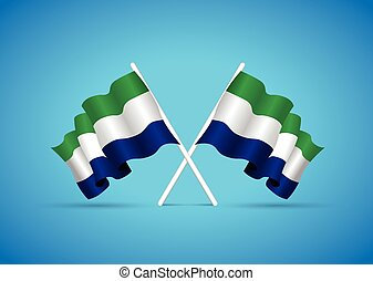 sierra leone national flag
