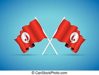 tunisia national flag