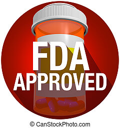 FDA Approved Federal Food Drug Administration Medical...
