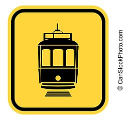 The caution tramway