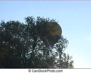 hot air balloon in the sky - russian hot air balloon sport...