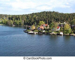 Archipelago - Swedish archipelago scenery.