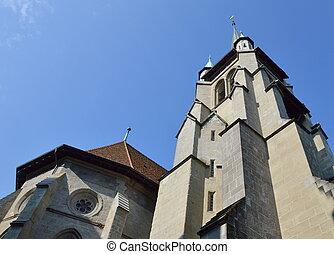 church in Lausanne Switzerland