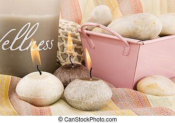 Wellness in gray and pink - wellness in gray and pink with...