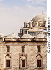 Beyazt Camii Mosque - A view of the beyazt camii mosque in...