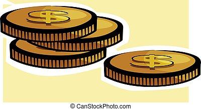 Dollar coins