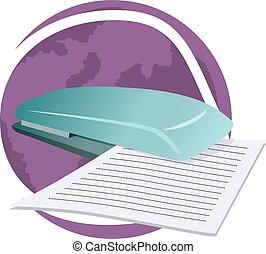 scanner - Illustration of scanner