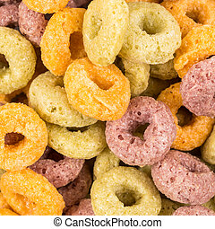 colorful cereal