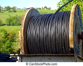 Heavy duty electric cable