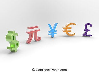 Global Currencies Symbols