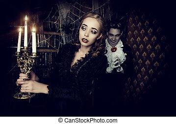 evil in the night