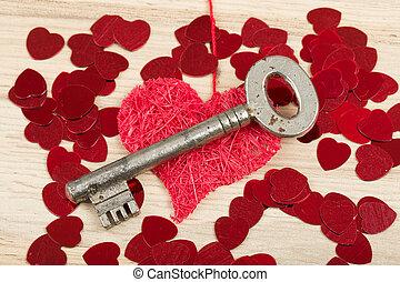 Símbolo, Amor, tecla, Coração