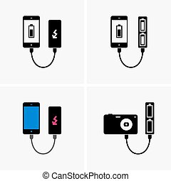 Power banks shade pictures