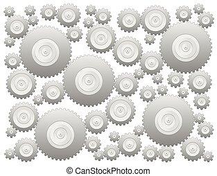 Cogs Gear Wheels